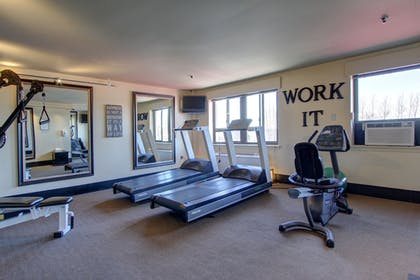Fitness Facility | Inlet Tower Hotel And Suites