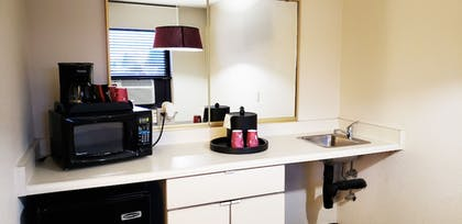 In-Room Kitchenette | Inlet Tower Hotel And Suites