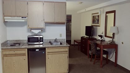 In-Room Kitchenette | Shilo Inn & Suites - Tacoma