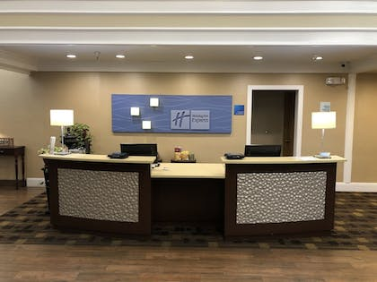 Reception | Holiday Inn Express Hotel & Suites Corning
