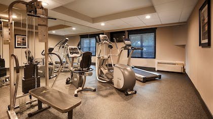 Gym | Best Western Hartford Hotel & Suites