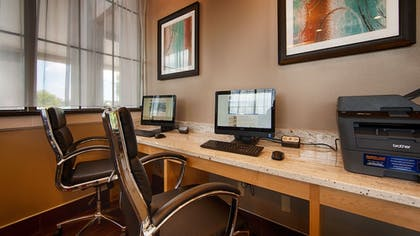 Business Center | Best Western Hartford Hotel & Suites