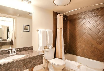 Bathroom | Grand Canyon Plaza Hotel