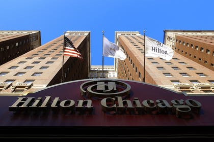 Exterior detail | Hilton Chicago