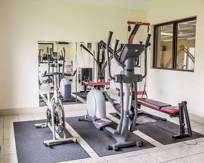 Gym | Norwood Inn & Suites North Conference Center