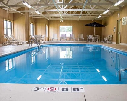 Indoor Pool | Norwood Inn & Suites North Conference Center