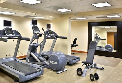 Fitness Facility   DoubleTree Suites by Hilton Raleigh-Durham