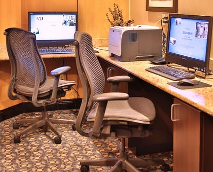 Business Center   DoubleTree Suites by Hilton Raleigh-Durham