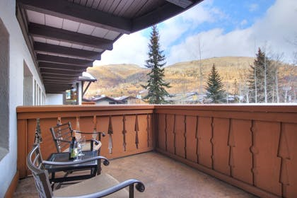 Balcony View | The Lodge at Vail, A RockResort