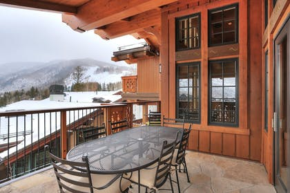 Terrace/Patio | The Lodge at Vail, A RockResort