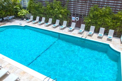 Outdoor Pool | Dorchester Hotel
