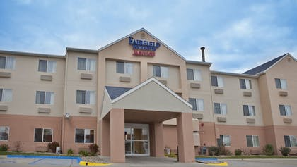 Hotel Front | Fairfield Inn & Suites Bismarck South