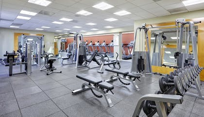 Fitness Facility | DoubleTree by Hilton Hotel Washington DC - Crystal City