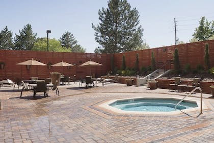 Outdoor Spa Tub | DoubleTree by Hilton Hotel Denver