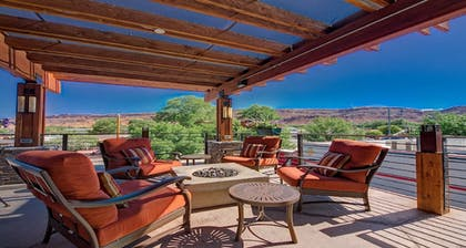 Terrace/Patio | Best Western Plus Canyonlands Inn