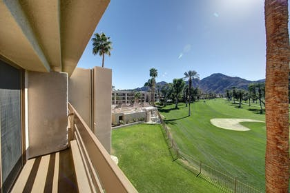Balcony View | Indian Wells Resort Hotel