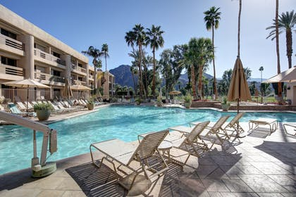 Hotel Front | Indian Wells Resort Hotel