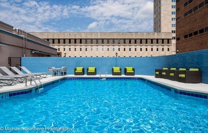 Outdoor Pool | Holiday Inn Express Nashville Downtown Conf Ctr