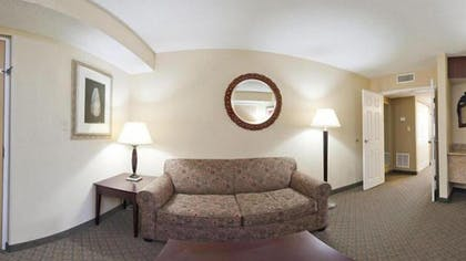 Living Room | Holiday Inn Express Clearwater East - Icot Center