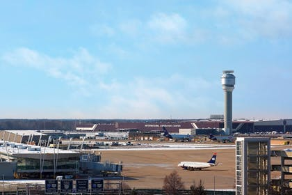 View from Hotel | Sheraton Cleveland Airport Hotel