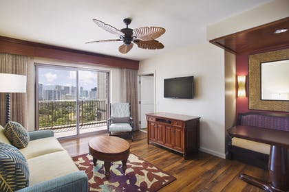 | 1 Bedroom City View King Suite with Sofabed | Grand Waikikian by Hilton Grand Vacations