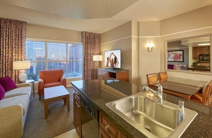 Two Bedroom King Suite At Hilton Grand Vacations At The
