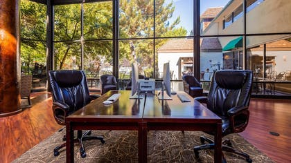 Business Center | SureStay Plus Reno Airport Plaza Hotel
