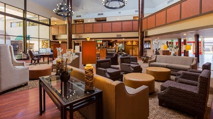 Lobby | SureStay Plus Reno Airport Plaza Hotel