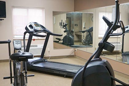 Fitness Facility   Quality Inn & Suites Watertown