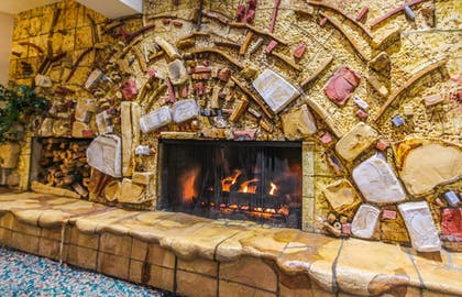 Fireplace | Tahoe Seasons Resort, a VRI resort