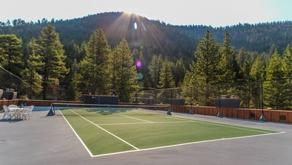 Tennis Court | Tahoe Seasons Resort, a VRI resort