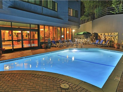 Outdoor Pool | Tahoe Seasons Resort, a VRI resort