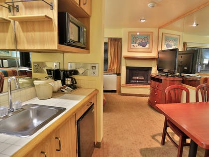 In-Room Kitchenette | Tahoe Seasons Resort, a VRI resort