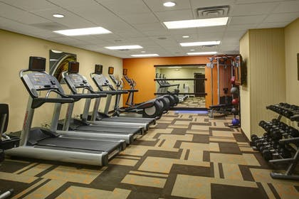 Fitness Facility | Courtyard Columbus Downtown