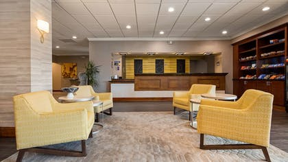 Lobby Sitting Area | Best Western Premier Airport/Expo Center Hotel