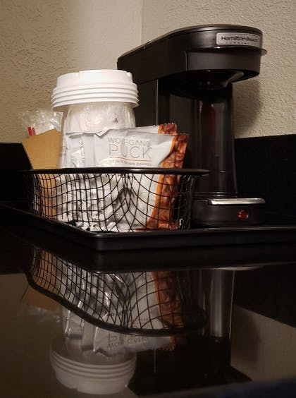 In-Room Coffee | Best Western Premier Airport/Expo Center Hotel