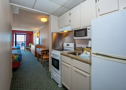 In-Room Kitchen | Dayton House Resort