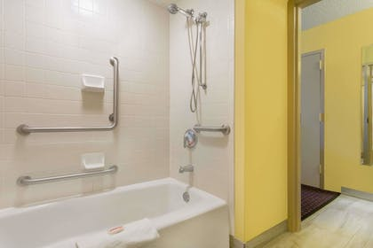 Bathroom | Days Inn by Wyndham Mocksville