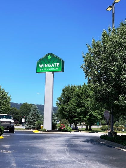 Hotel Entrance   Wingate by Wyndham Fletcher at Asheville Airport