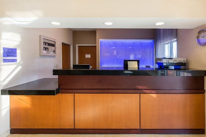 Reception | Fairfield Inn & Suites St. Cloud