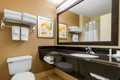 Bathroom | Fairfield Inn & Suites St. Cloud