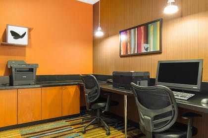 Business Center | Fairfield Inn & Suites St. Cloud
