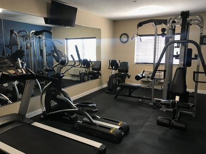 Gym | Quality Inn & Suites