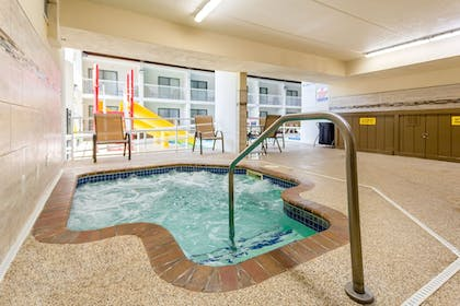 Indoor Spa Tub | Ramada Hotel & Conference Center by Wyndham Plymouth