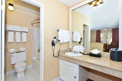 Bathroom | Best Western Plus Anaheim Inn