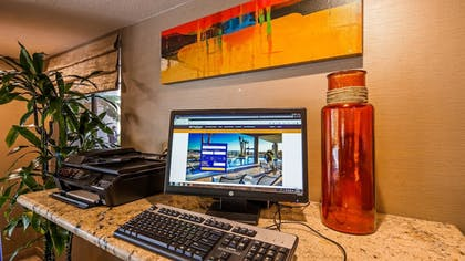 Business Center | Best Western Plus Anaheim Inn