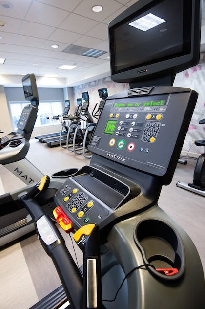 Fitness Facility | Crowne Plaza Cleveland at Playhouse Square