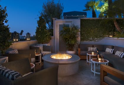 Terrace/Patio | The Peninsula Beverly Hills