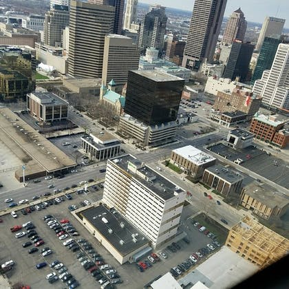 Aerial View   Holiday Inn Columbus Downtown Capitol Square