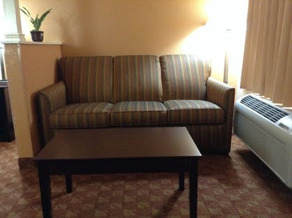 Living Area | Econo Lodge Inn & Suites Downtown Northeast